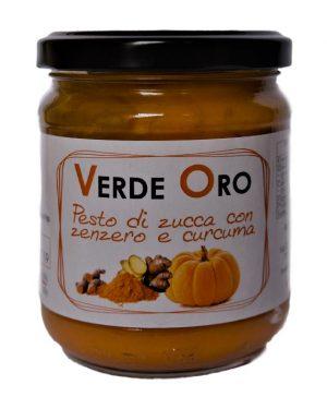 Pesto Zucca, Zenzero e Curcuma VerdeOro