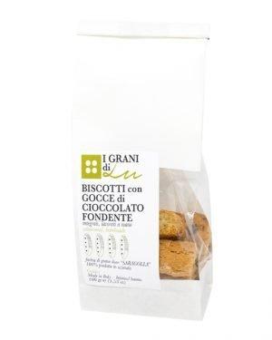 Biscotti con gocce cioccolato Biolu